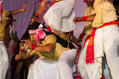 Bihu, cultural dance of Assam Stock Photo