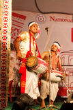Bihu, culture d'Assamese Image libre de droits