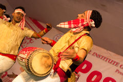 Bihu dancer Stock Image