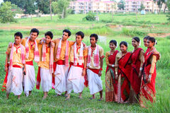 Bihu, traditional Assamese festival Royalty Free Stock Photo