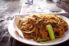 Bihun Goreng Or Fried Bee Hoon Noodle stock image