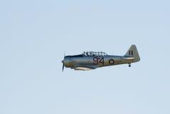 Bij-16 Harward II tijdens de vlucht Stock Afbeelding