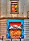 Bij Barceloneta-gebied Stock Foto's