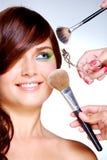Bij beautician?s stock afbeelding
