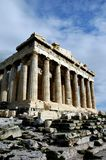 Bij de Akropolis in Athene Royalty-vrije Stock Fotografie