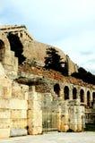 Bij de Akropolis in Athene Stock Afbeelding
