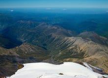 Bij de bovenkant van Elbrus Royalty-vrije Stock Foto