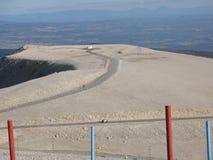 bij de bovenkant van Mont Ventoux Stock Afbeeldingen