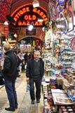Bij de Grote Bazaar Stock Fotografie