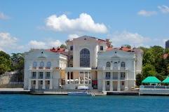 Bij de haven van Sebastopol royalty-vrije stock afbeeldingen