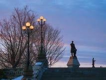 Bij de het Parlement Heuvel in Ottawa Stock Foto