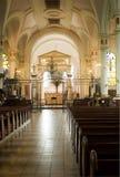 Bij de kathedraal Royalty-vrije Stock Foto's