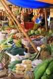 Bij de markt stock afbeelding