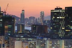 Bij de mening van het lamtin van Hongkong Stock Afbeeldingen
