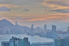 bij de mening van het lamtin van Hongkong 2017 Stock Afbeeldingen