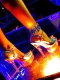 Bij de nachtclub Royalty-vrije Stock Fotografie