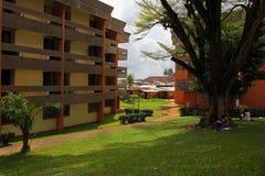 Bij de universiteit van Douala, Cameroun Royalty-vrije Stock Afbeelding