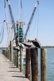 Bij de visserijdokken stock foto's