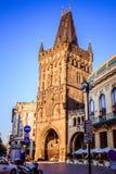 Bij dijkna PÅ™ÃkopÄ› in de oude stad van Praag, Tsjechische Republiek Royalty-vrije Stock Afbeeldingen