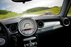 Bij een snelheid van 200 km per uur Stock Afbeelding