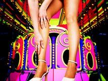 bij het circus Stock Afbeelding