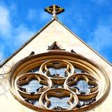 bij het notting van de de oude bouw en geschiedenis van heuvelengeland Europa Royalty-vrije Stock Foto