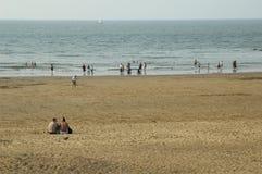 Bij het strand Royalty-vrije Stock Fotografie