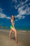 Bij het strand Royalty-vrije Stock Afbeelding