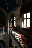 Bij het verlaten kasteel Stock Afbeeldingen