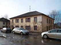 Bij 500 kilometers van Donbass (de Oekraïne in de eerstgenoemden) Stock Foto