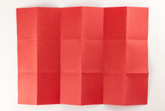3 bij rode pagina 6 Stock Afbeelding