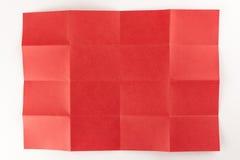 4 bij rode pagina 4 Royalty-vrije Stock Foto's