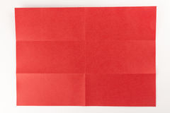 3 bij rode pagina 2 Stock Foto's