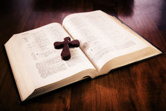 Bijbel royalty-vrije stock foto