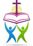 Bijbel dwarsmensen royalty-vrije illustratie