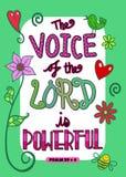 Bijbelheilig schrift Art Poster Stock Fotografie