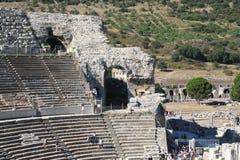 Bijbels Ephesus-Stadion stock foto