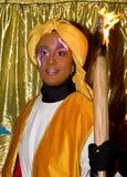 Bijbelse parade Magi in Spanje Stock Afbeeldingen