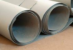 Bije bydło podłogę dla kłaść laminat lub parkietowa deska obraz stock