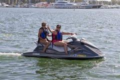 Bije upału Watercraft W Kalifornia fotografia stock