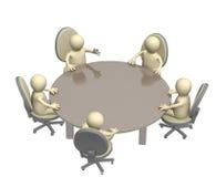 Bijeenkomst Stock Afbeelding