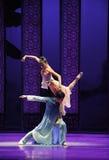 Bijeenkomst van Verrijzenis - De derde handeling van de gebeurtenissen van dans drama-Shawan van het verleden stock afbeeldingen