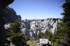 Bijele stijene风景 免版税库存照片