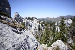 Bijele stijene 库存照片