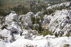 Bijele stijene 图库摄影