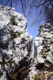 Bijele stijene 库存图片