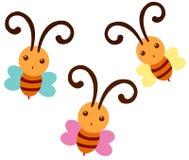 Bijen stock illustratie