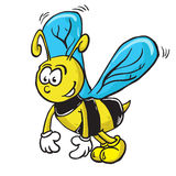Bijenbeeldverhaal Royalty-vrije Stock Fotografie