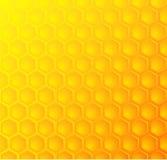 Bijenhoningraat, naadloze patroonachtergrond Royalty-vrije Stock Afbeelding