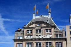Bijenkorf department store Royalty Free Stock Images